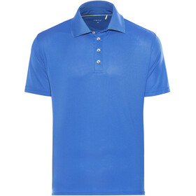 Meru Wembley Functional Polo Shirt Men Lapis Blue